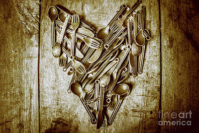 Cutlery Photograph - Heart Of The Kitchen by Jorgo Photography - Wall Art Gallery