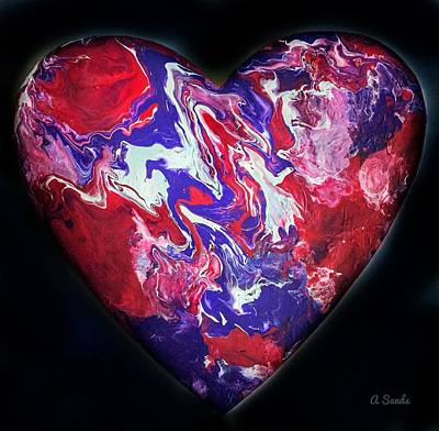 Painting - Heart Of The Matter by Anne Sands