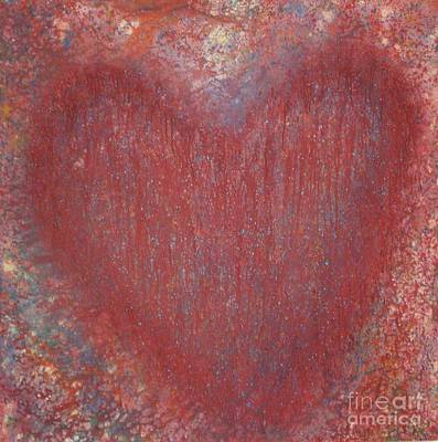Painting - Heart Of The Matter by Jeanie Watson