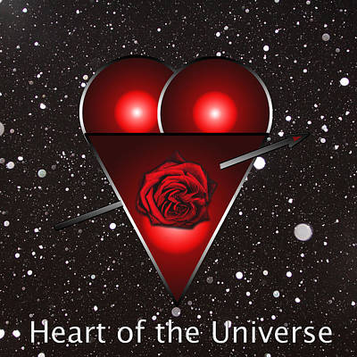 Photograph - Heart Of The Universe by Tom Conway