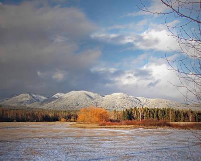 Montana Digital Art - Heart Of Winter by Vicki Lea Eggen