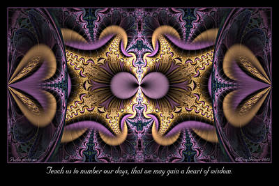 Digital Art - Heart Of Wisdom by Missy Gainer