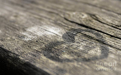 Old Plank Tables Painting - Heart On A Table by Germano Poli