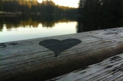 Photograph - Heart On Deck by Eddie G