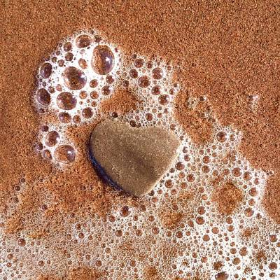 Photograph - Heart On The Beach by Cristina Stefan