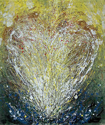 Painting - Heart One by John Dyess
