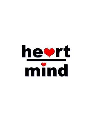 Digital Art - Heart Over Mind by Bill Owen