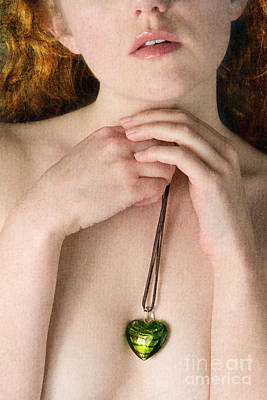 Photograph - Heart Shaped Pendant by Clayton Bastiani