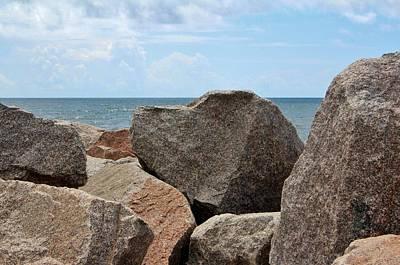 Photograph - Heart-shaped Rock by Cynthia Guinn