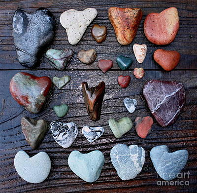 Painting - Heart Treasures  by Larry Bacon