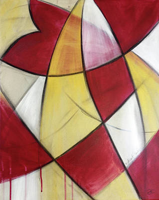 Painting - Heart Wins by Anna Elkins
