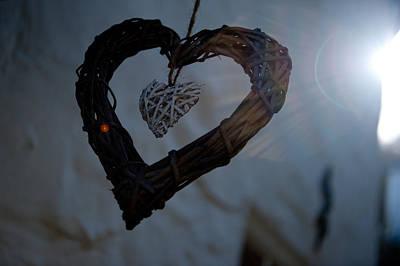 Photograph - Heart With A Heart II by Helen Northcott