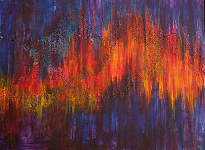 Heartbeat Painting - Heartbeat by Elva Robinson