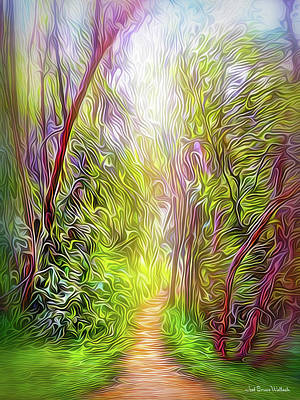 Digital Art - Heartbeat Of The Trail by Joel Bruce Wallach