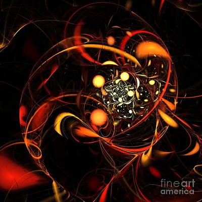 Heartbeat Art Print by Oni H
