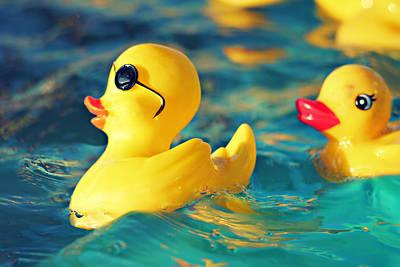 Ducky Photograph - Heartbreaker by Amy Tyler