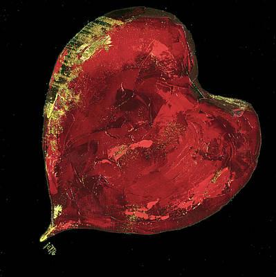 Painting - Heartbreaker by Jette Van der Lende