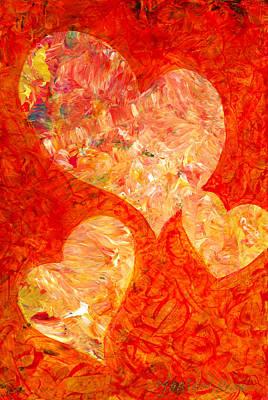 Heartfelt 2 Print by Marion Rose