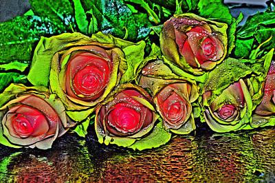 Passiflora Digital Art - Heartfelt Congratulations by Andy Za