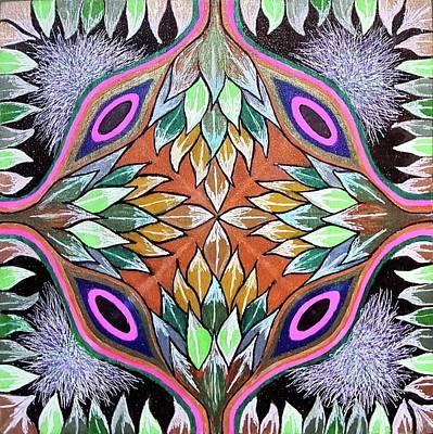 Artichoke Drawing - Heartichokes by Ethel Mann