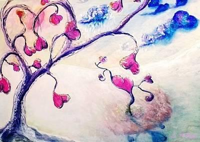 Subtle Drawing - Heartland In Winter by Scott Phillips
