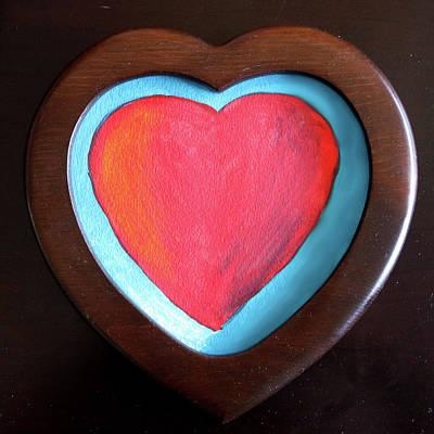 Painting - Hearts Afire by Deborah Boyd