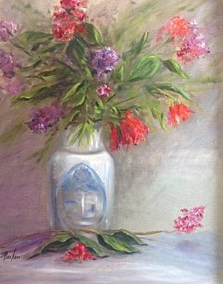 Painting - Hearts And Flowers by Anne Barberi