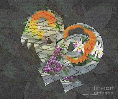 Photograph - Hearts And Flowers by Kathie Chicoine