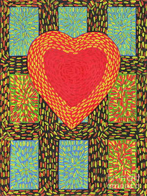 Painting - Hearts And Sparks by James Homer Brown