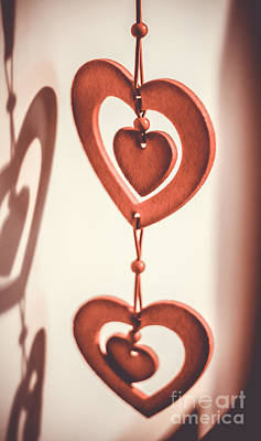 Interiors Photograph - Hearts by Claudia M Photography