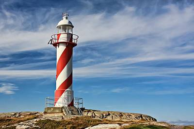 Photograph - Heart's Content Lighthouse  by Tatiana Travelways
