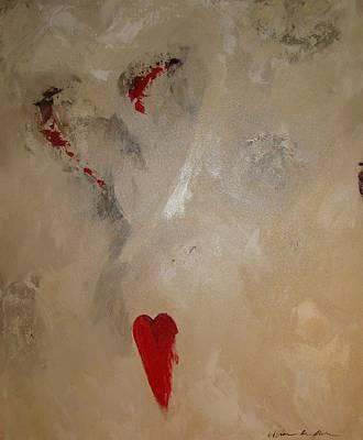 Hearts Eternal Art Print by Vivian Mora