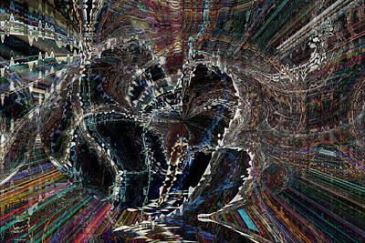 Digital Art - Hearts In Motion by Linda Sannuti