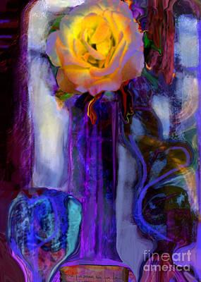 Hearts 'n Flowers Love Always Art Print