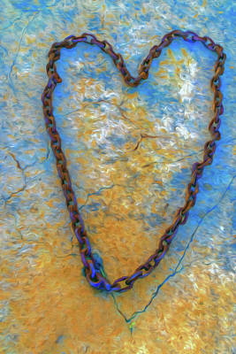 Photograph - Hearts Of Chain   by Jerry Gammon