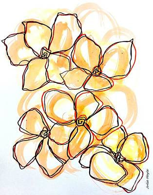 Painting - Hearts Of Gold by Julie Hoyle