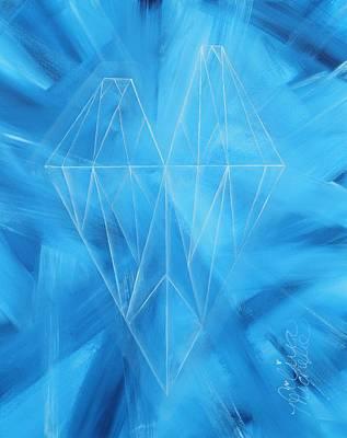 Aaliyah Painting - Hearts Unbreakable by Aliya Michelle
