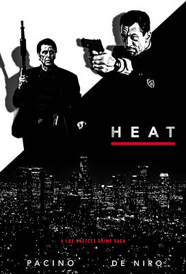 De Niro Photograph - Heat Alternative Poster by David Djanbaz