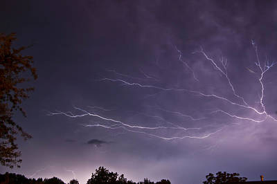 Photograph - Heat Lightning by Amber Flowers