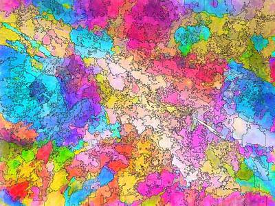Painting - Heat Map by Mark Taylor