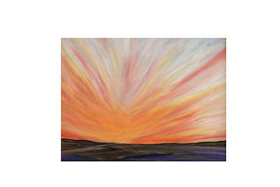 Painting - Heat On The Bay by Daniel Dubinsky