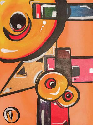 Painting - Heat Seek by Ginnefine