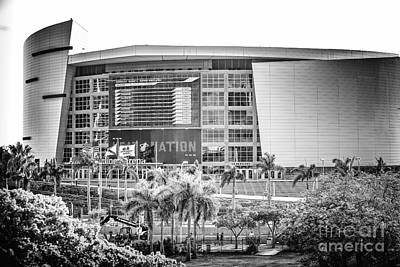 Photograph - American Airlines Arena Stadium by Rene Triay Photography