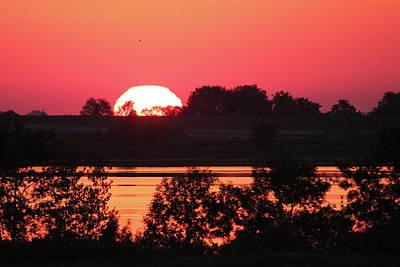 Photograph - Heat Wave Sunrise by Trent Mallett