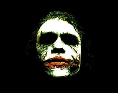 Digital Art - Heath Ledger As The Joker by Anton Kalinichev