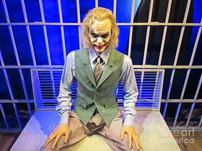 Heath Ledger Photograph - Heath Ledger As The Joker by John Malone