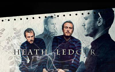 Heath Ledger Digital Art - Heath Ledger by Carmine Danhauer