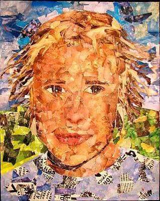 Heath Ledger Mixed Media - Heath Ledger by Lucia  Belivakici