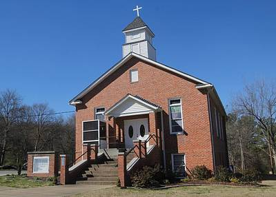 Photograph - Heath Memorial United Methodist Church by Joseph C Hinson Photography