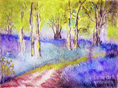 Heather Painting - Heather Glade by Jasna Dragun